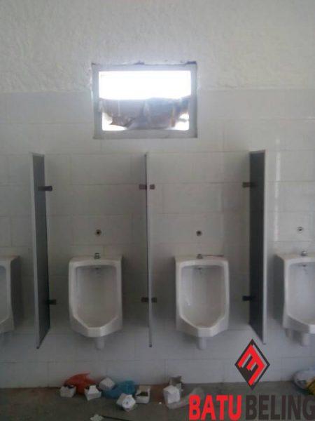 Aplikasi Urinoir di Kantor Tol Jombang