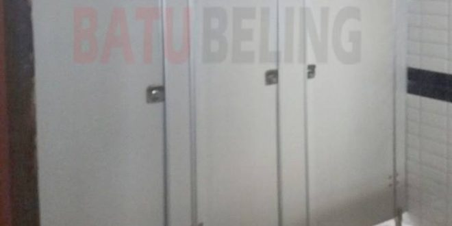 Pemasangan Cubicle Toilet PVC Board di Semarang