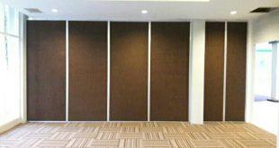 Aplikasi Pintu Lipat Semi Peredam di Hotel News Surabaya