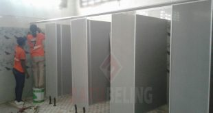5 Unit Cubicle Toilet PVC Board Kenjeran Park