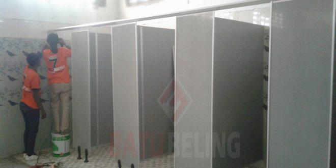 5 Unit Cubicle Toilet PVC Board Kenjeran Park