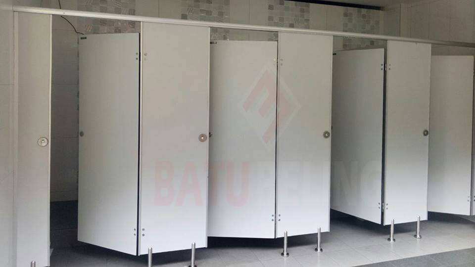 cubicle toilet phenolicresin