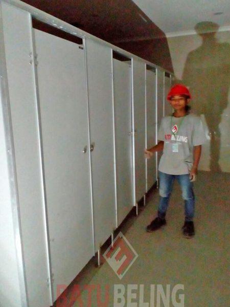 Cubicle Toilet PT. MSD Pandaan
